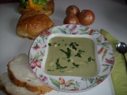 Grüne Hühner Suppe - Rezept