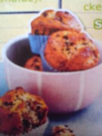 Stracciatella-Muffins - Rezept
