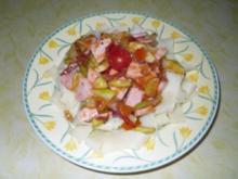 Bunte Zucchinipfanne - Rezept