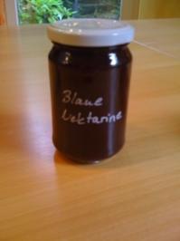 Blaue Nektarine - Rezept