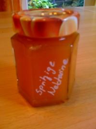 Spritzige Nektarine - Rezept