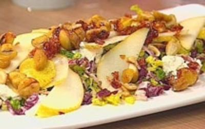 Salat mit karamellisierten Maronen - Rezept - Bild Nr. 9