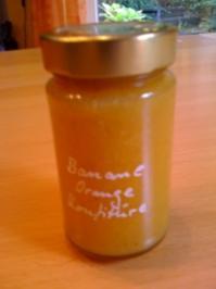 Banane - Orange - Marmelade - Rezept
