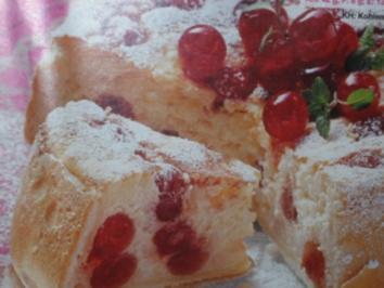 Kirsch-Käsekuchen - Rezept
