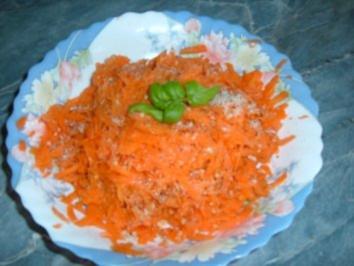 Salat.....Apfel-Möhren-Rohkost - Rezept