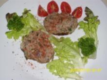 Fleisch: Saftig-würzige Hackfleischklößchen, fettreduziert - Rezept