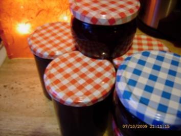 Kirsch - Vanille - Zimt - Marmelade - Rezept