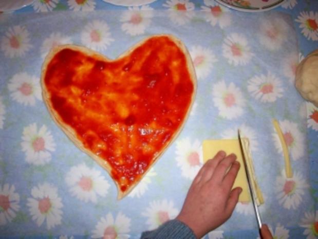 Muttertagspizza - Rezept - Bild Nr. 3