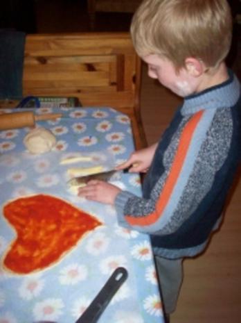 Muttertagspizza - Rezept - Bild Nr. 4