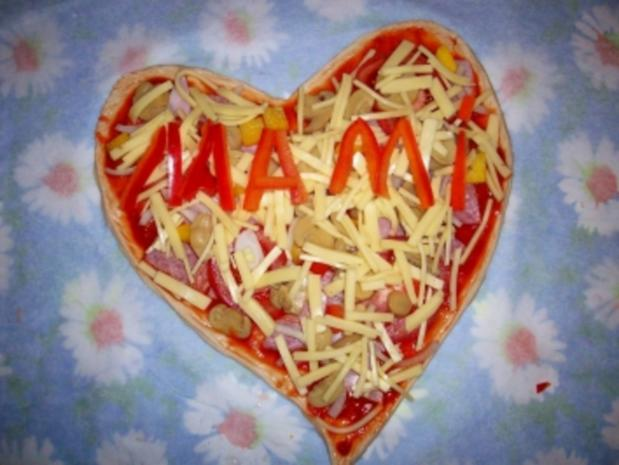 Muttertagspizza - Rezept - Bild Nr. 5