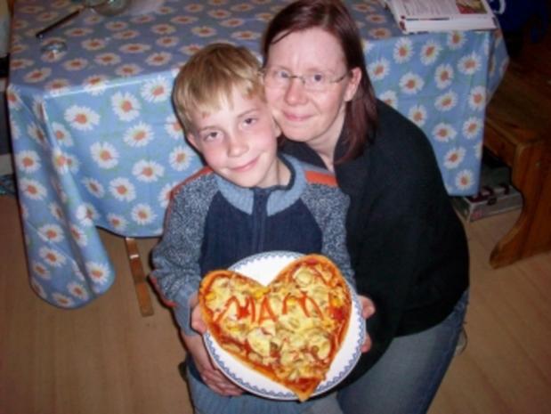 Muttertagspizza - Rezept