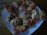 Pizza Häppchen - Rezept