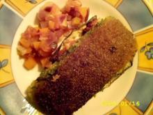 Spinatfisch im Gemüsebett - Rezept