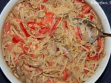 Mungosprossen-Salat mit Schweinefilet - Rezept