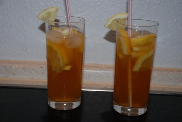 Erfrischungsgetränk mit Tee - Rezept