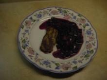 Fleisch - Hirschsteaks mit Waldfruchtsoße - Rezept