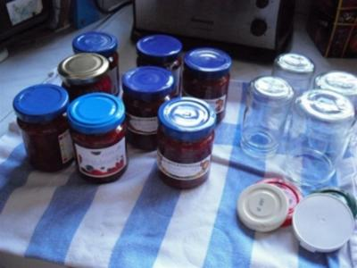 4-Frucht-Marmelade - Rezept
