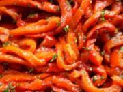 Paprika, mariniert - Rezept