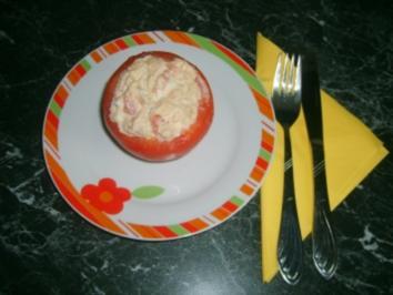 Gefüllte Tomaten mit Thunfisch - Rezept