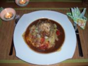 Sauerbraten vom Seeteufel mit Spitzkohl und Marinade - Rezept