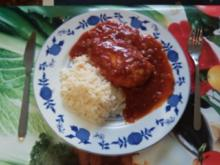Hähnchenbrust in Tomaten-Honig-Chili-Soße - Rezept