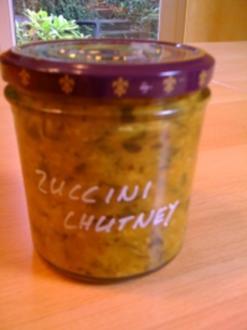 Indisches Zucchini - Chutney - Rezept