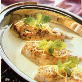 Hähnchenfilet in Ingwer Zitronensoße - Rezept