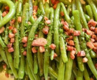Grüne Bohnen , mariniert - Rezept