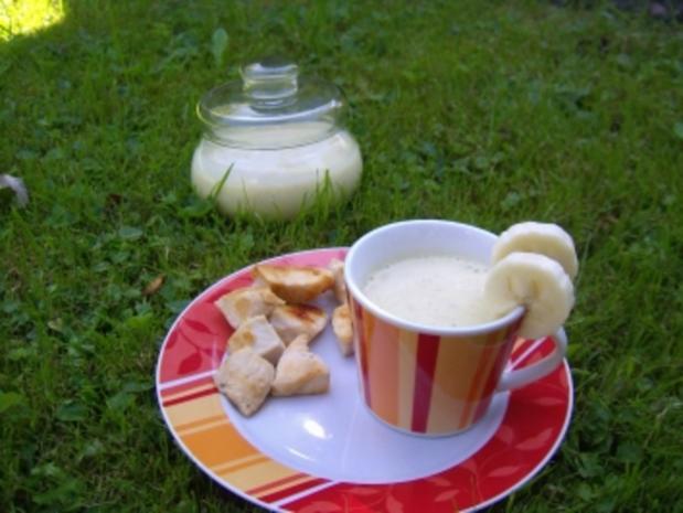 Bananen-Curry-Dip - Rezept