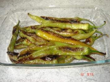 Gebratene Spitzpaprika - Rezept