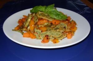 Maultaschen mit Gemüse - Rezept