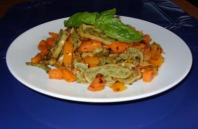 Rezept: Maultaschen mit Gemüse