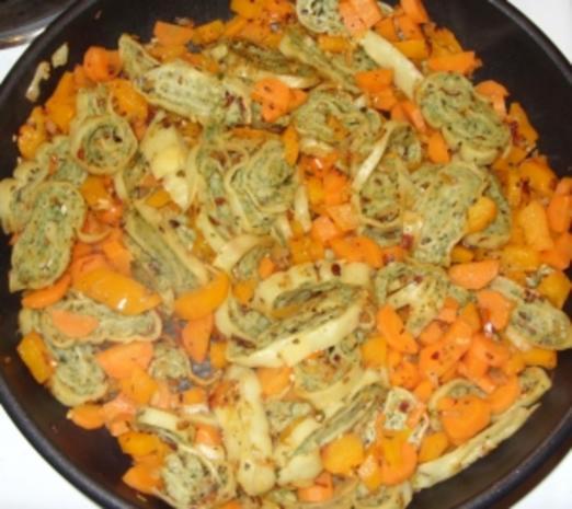 Maultaschen mit Gemüse - Rezept - Bild Nr. 4