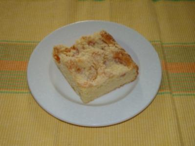 Marillen - Streuselkuchen - Rezept