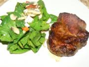 bunter Spinatsalat - Rezept