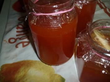 Marillenmarmelade mit Amaretto - Rezept