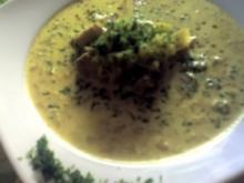 Curry-Suppe mit Früchten - Rezept