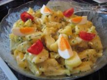 Kartoffelsalat m. selbstgemachter Mayonnaise - Rezept