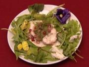 Seeteufel in Vanille mit Granatapfel (Mackie Heilmann) - Rezept