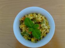 ** Salate ** Reissalat mit asiatischem Pfannengemüse - Rezept