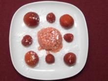 Erdbeer-Sahne-Eis mit Früchten des Sommers (Rico Rex) - Rezept