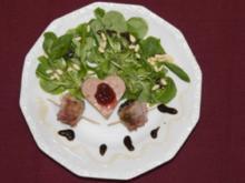 Feldsalat mit Leberpastete (Maren Gilzer) - Rezept