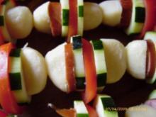 Kartoffelkloss - Spiesse vom Grill - Rezept