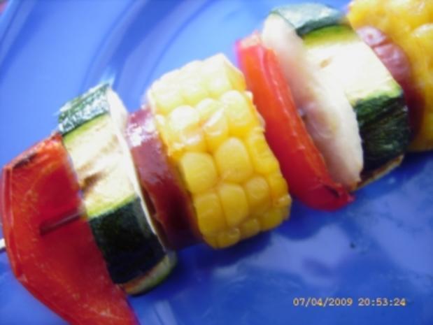 Kartoffelkloss - Spiesse vom Grill - Rezept - Bild Nr. 23