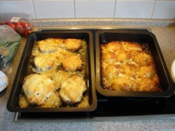 Überbackene Kartoffeln... - Rezept
