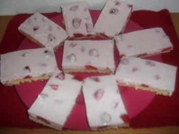 Erdbeercreme-Kuchen - Rezept