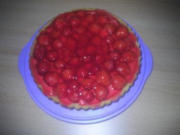 Gebäck - Erdbeertorte - Rezept