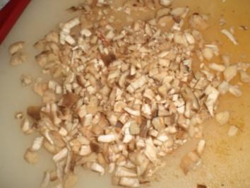 Rezept: Gegrillte Champignons mit Kräuterbutter