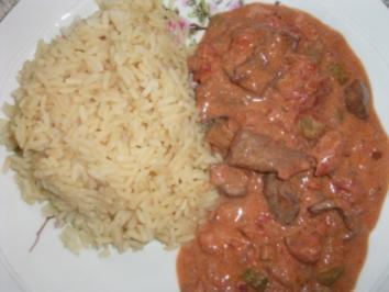 Rindfleisch Geschnetzeltes Dida's Art - Rezept