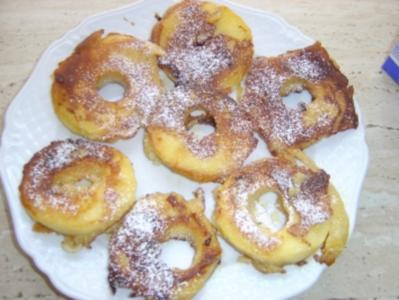 Apfelringe - Rezept